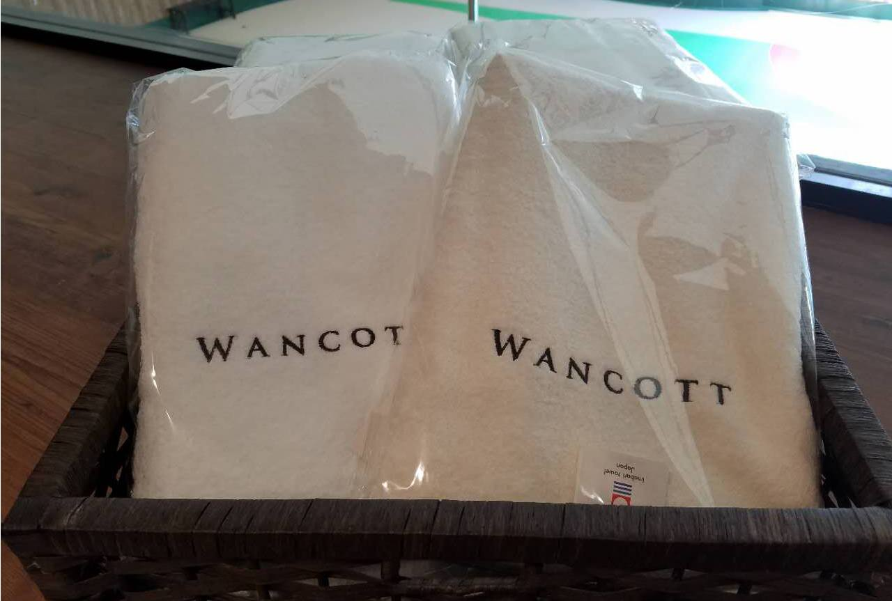 WANCOTTオリジナル  今治バスタオル販売開始