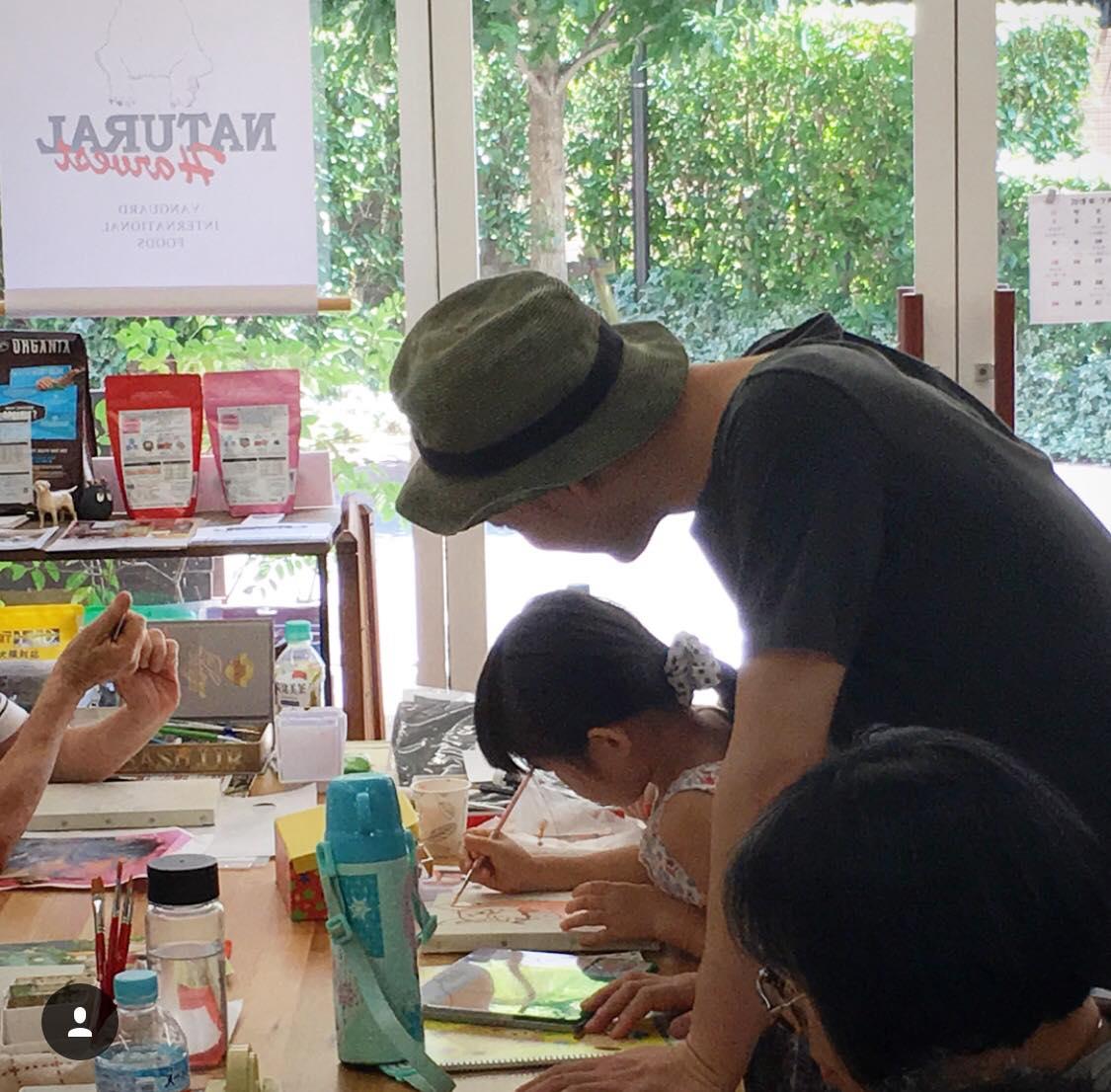 2月10日(日)長友心平先生の絵画教室