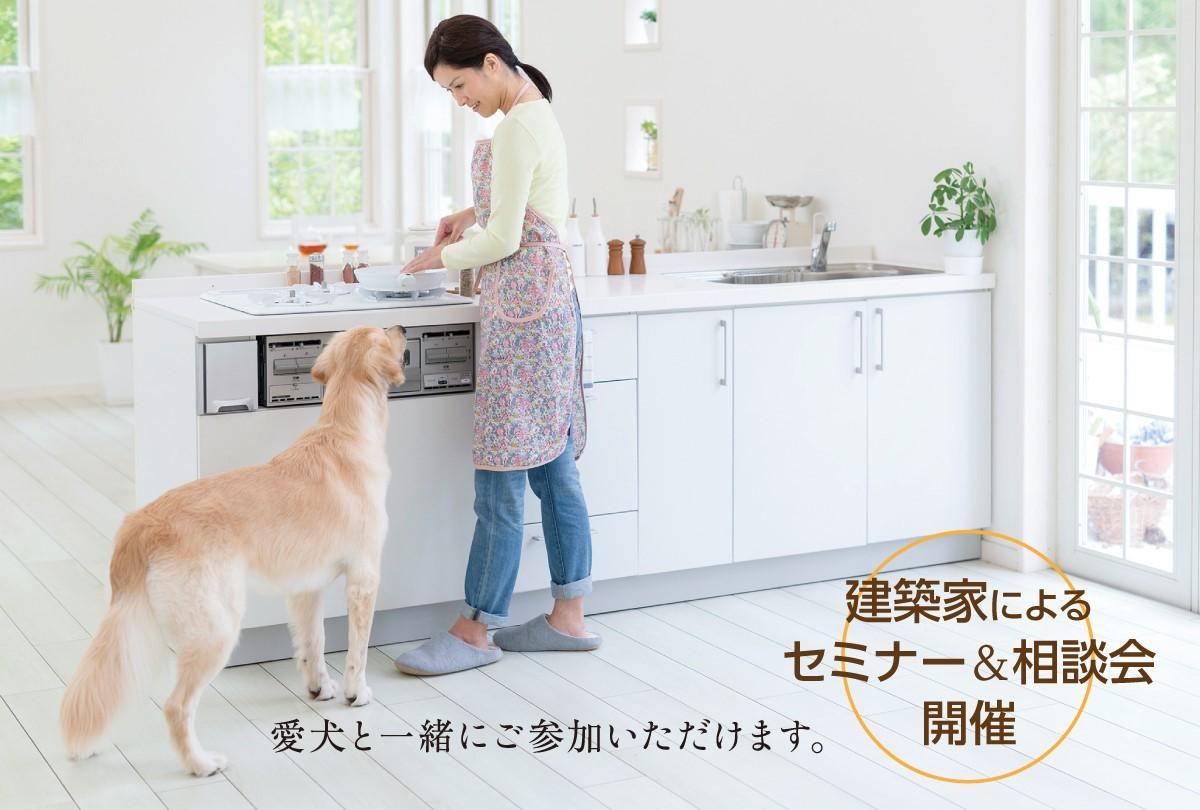 【イベントのお知らせ】7月23日(木・祝)~26日(日)愛犬家必見!「ペットと暮らす家」の住宅相談会を開催!
