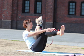 5月3日(月・祝) Dog yoga(ドッグヨガ)開催!
